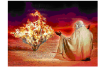 Moses & burning bush2