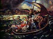 Christ And The Storm, Giorgio de Chirico, 1914