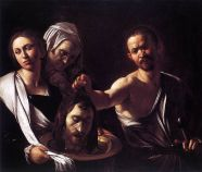 Salome with the Head of John the Baptist by Caravaggio, National Gallery, London, c. 1607-10