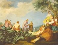 The Feeding of the Multitude, Abraham Bloemaert, 1628