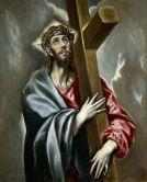 Cristo abrazado a la cruz, El Greco, c. 1602 (Madrid, Museo del Prado)