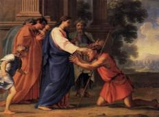 Christ Healing the Blind Man, Eustache Le Sueur, c. 1600