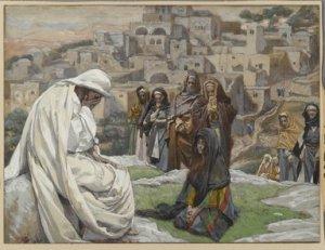 Jésus pleura (Jesus wept) by James Tissot, 1886-1896