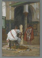 Jésus devant Pilate. Deuxième entretien (Jesus Before Pilate Second Interview), James Tissot, 1886-1994