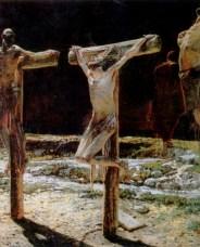 Crucifixion, Nikolai Nikolaevich Ge, 1894
