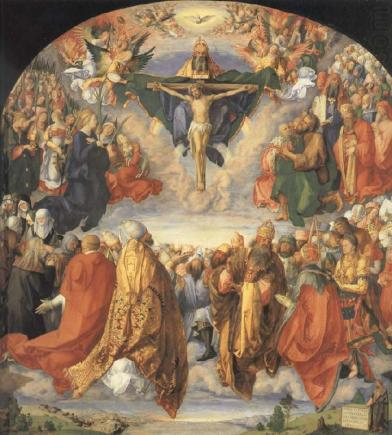 Adoration of the Trinity (1511), Albrecht Dürer (1471-1528), Kunsthistorisches Museum, Vienna
