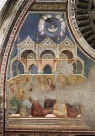 Pentecost, Giotto, 1290-1299