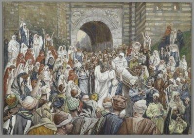 The Resurrection of the Widow's Son at Nain (La résurrection du fils de la veuve de Naïm) (1886-1894), James Tissot (1836-1902), Brooklyn Museum