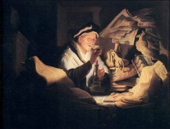 Parable of the Rich Fool (1627), Rembrandt Harmenzoon van Rijn (1606-1669)