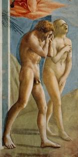 The Expulsion of Adam and Eve from the Garden of Eden (c. 1426) Masaccio (ne Tommaso di Ser Giovanni di Simone) (1401-1428)