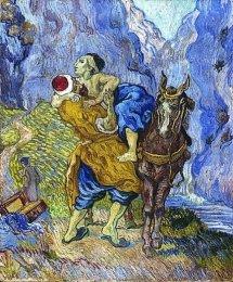The Good Samaritan (1890), Museum Kröller-Müller Museum, Otterlo, The Netherlands, Vincent van Gogh (1853-1890)