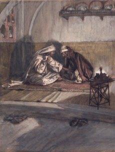 Interview between Jesus and Nicodemus (Entretien de Jésus et de Nicodème) (1886), James Tissot (1836-1902)