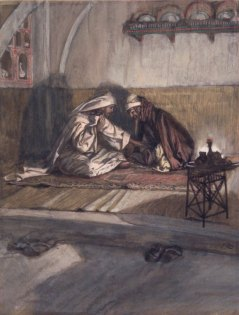 Interview between Jesus and Nicodemus (Entretien de Jésus et de Nicodème) (1886), James Tissot (1836-1902)