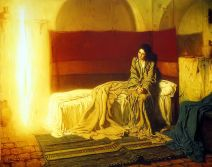 The Annunciation (1898), Henry Ossawa Tanner (1859-1937)