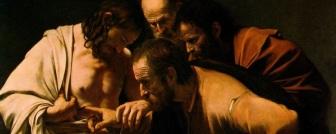 Doubting Thomas, Michelangelo Merisi da Caravaggio (1571-1610)