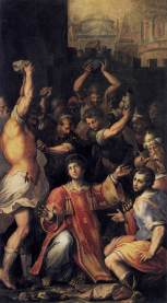 Martyrdom of St. Stephen (c. 1560), Giorgio Vasari