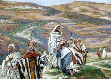 Jesus Commissions Disciples, James Tissot (1836-1902)