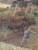 The Enemy Sowing Tares (weeds), James Tissot (1836-1902)