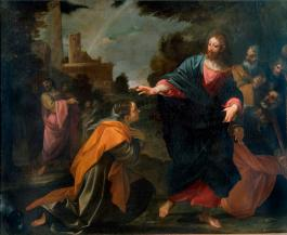 Christ and the Canaanite Woman, Ludovico Carracci (1555-1619)
