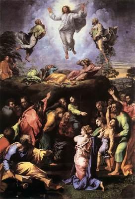 The Transfiguration (1518-1520), Raffaello Sanzio da Urbino (Raphael), 1483-1520