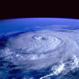 hurricane eye