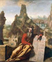Moses at Mount Sinai (1655), Jacques de Létin (1597-1661)