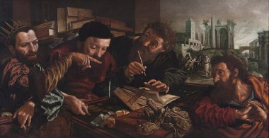 Parable of the Unmerciful Servant (1556), Jan Sanders van Hemessen (1500-1579), University of Michigan Museum of Art