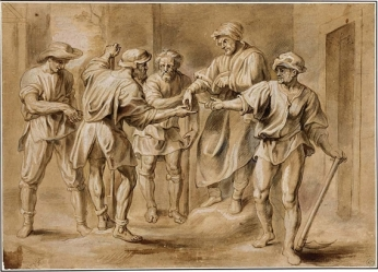 Parable of the Workers in the Vineyard, Erasmus Quellinus the Younger (or Erasmus Quellinus II) (1607-1678)