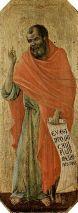 The Prophet Hosea (1309-1311), Duccio di Buoninsegna (1255-1319), Cattedrale Metropolitana di Santa Maria Assunta, Siena, Italy