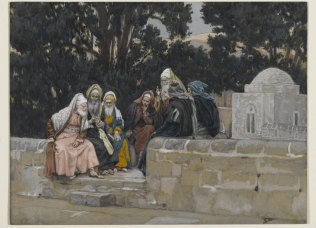 The Pharisees and the Herodians Conspire Against Jesus (Les pharisiens et les hérodiens conspirent contre Jésus) (1886-1894), James Tissot (1836-1902)
