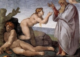 The Creation of Eve (1508-1512), Michelangelo (1475-1564)