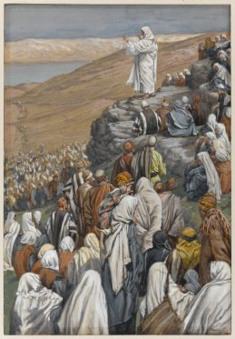 The Sermon of the Beatitudes (La sermon des béatitudes) (1886), James Tissot (1836-1902)